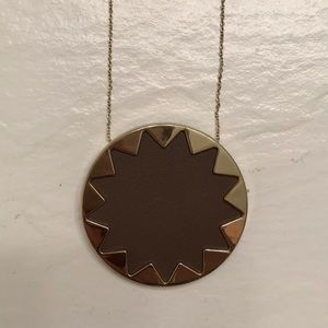 House of Harlow large sunburst pendant